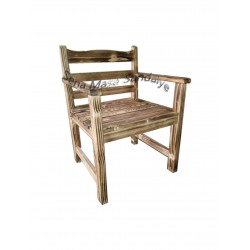 YS06 Ahşap Yakma Sandalye