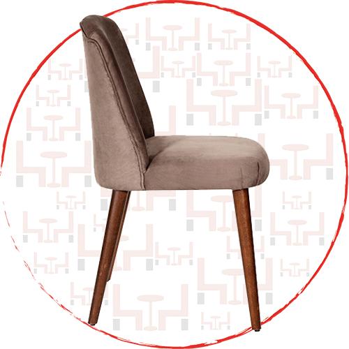 Lüks Ahşap Sandalye BK51