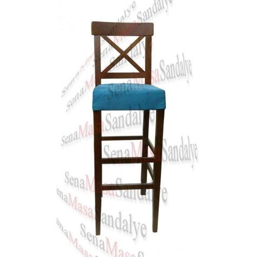 BAR09 Ahşap Bar Sandalyesi