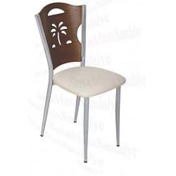 MTL19 Metal Sandalye Palmiye