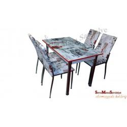 MT10 Gözde Masa Sandalye Takımı