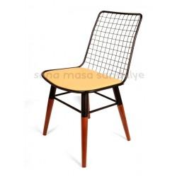 Ahşap Tel Sandalye AK01