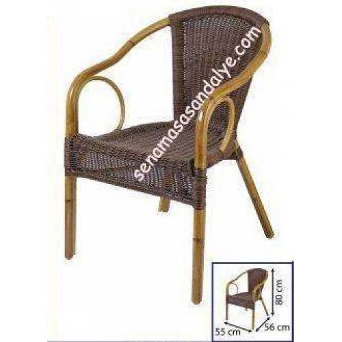 R08 İndirimli Rattan Sandalye