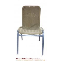 R04 Çıtalı Rattan Sandalye