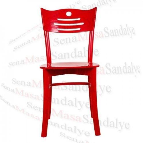 AS08 Kırmızı Tonet Sandalye
